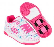 Heelys X2 Dual Up White/Pink/Multi